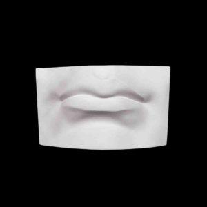 gipsovaya figura - guby davida