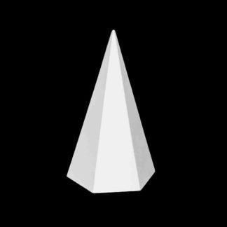 gipsovaya-figura-piramida-6-grannaya