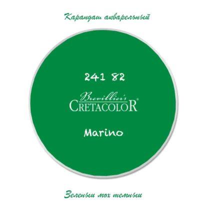 karandash-akvarelnyj-cretacolor-zelenyj-moh-temnyj