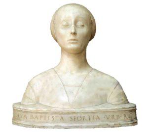 Бюст Мария Сфорца