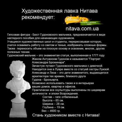 gipsovaya-figura-byust-gudonovskogo-malchika - instagram