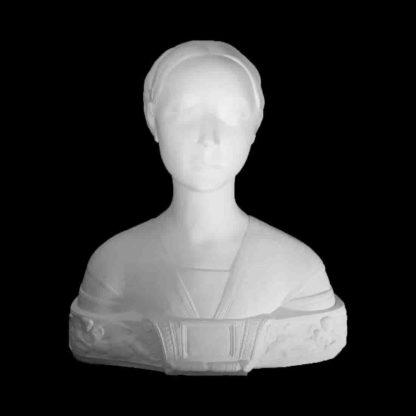 Гипсовая фигура - бюст Мария Сфорца