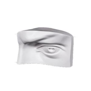 gipsovaya figura - glaz davida 400
