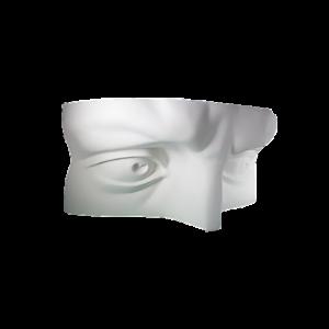 gipsovaya-figura-glaza-davida-dvojnye