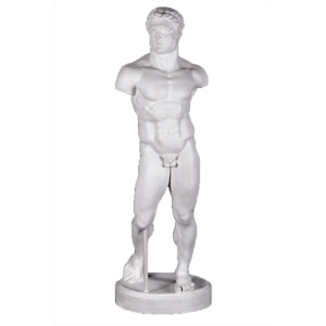 gipsovaya-figura-statuya-gerakla t