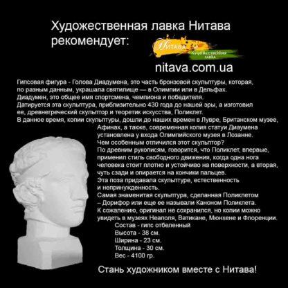 gipsovaya-figura-golova-diadumena-instagram