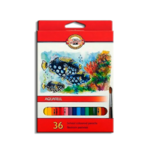 karandashi-akvarelnye-aquarell-school-watercolour-koh-i-noor-36-cvetov-v-nabore