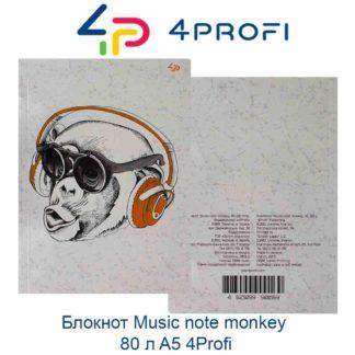 bloknot-music-note-monkey-80-l-a5-4profi-44