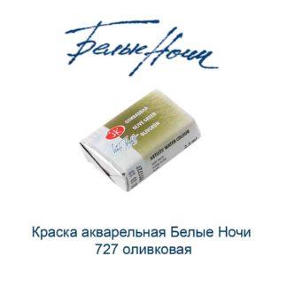 kraska-akvarelnaja-belye-nochi-727-olivkovaja-nevskaja-palitra-1
