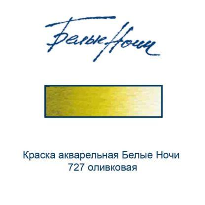 kraska-akvarelnaja-belye-nochi-727-olivkovaja-nevskaja-palitra-3