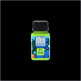 kraska-po-steklu-60-ml-idea-vetro-311-svetlo-zelenyj-maimeri