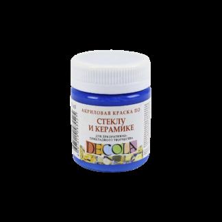 kraska-po-steklu-i-keramike-akrilovaja-decola-50-ml-zhk-520-sinjaja-svetlaja